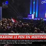 Le Pen à Nice: «Emmanuel Macron, c'est le pyromane qui veut se faire passer pour le pompier»