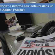 Au Mexique un journal ferme après l'assassinat de l'une de ses journalistes