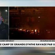 Le camp de Grande-Synthe détruit par un incendie