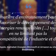 Les grands noms de la Silicon Valley unis contre la politique environnementale de Donald Trump