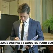 Stage Dating : 5 minutes pour convaincre