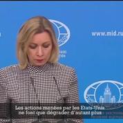 Frappes contre la Syrie : la Russie dénonce une agression