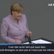 Brexit : Merkel clarifie les choses avec la Grande-Bretagne