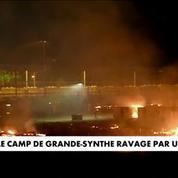 Après l'incendie, le camp de Grande-Synthe entièrement vidé