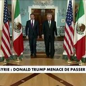 Syrie : Donald Trump durcit le ton