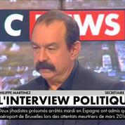 Philippe Martinez appelle la CGT à ne donner