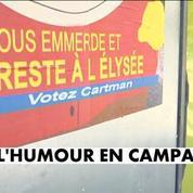 Présidentielle : les affiches insolites de la campagne