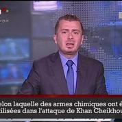 La télévision d'État syrienne qualifie les frappes américaines d'«agression»