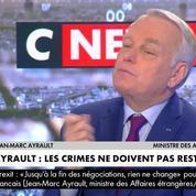 Ayrault l'assure: «Un jour viendra où la justice se prononcera sur Bachar el-Assad»