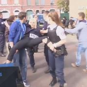 Des militantes Femen arrêtées à Hénin-Beaumont