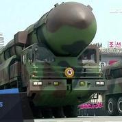 Corée du Nord : les images d'une gigantesque parade militaire