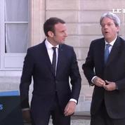 Avec l'Italie, Macron veut la création «d'une vraie Europe et d'une zone euro de l'investissement»