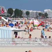 La privatisation de la plage de La Baule provoque un tollé