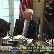 Pour Donald Trump, la paix entre Israël et la Palestine «n'est pas aussi difficile»