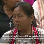 Mexique: une femme indigène désignée candidate à la présidence