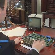 Un ordinateur Apple one de 1976 vendu aux enchères à prix d'or