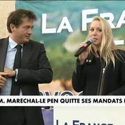 La fin de la carrière politique de Marion Maréchal Le Pen