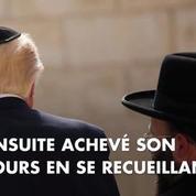 La journée du président américain Donald Trump en Israël