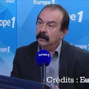 Pour Philippe Martinez (CGT), le dossier Tati est «une conséquence de la loi Macron»