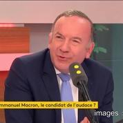 Pour Pierre Gattaz, les propositions de Macron ne vont pas assez loin