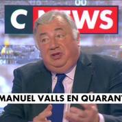 Gérard Larcher : En marche! a un comportement particulièrement dur par rapport à Manuel Valls
