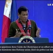 Rodrigo Duterte appelle au soutien militaire des États-Unis et des Nations-unies face à la Chine