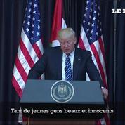 Manchester: Trump condamne une attaque commise par des «losers»