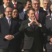 Paris 2024: Macron reçoit les membres du CIO à l'Elysée