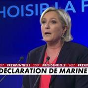 Marine Le Pen : la première force d'opposition au projet du nouveau président