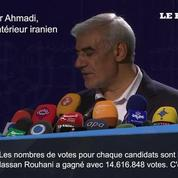 Iran: Rohani réélu président avec 57% des voix