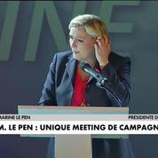Législatives 2017 : Marine Le Pen à Calais pour son unique meeting