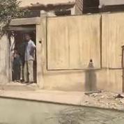 Les images d'un quartier de l'ouest de Mossoul peu de temps après sa libération