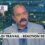 Philippe Martinez sur la loi travail : C'est une concertation, pas une négociation