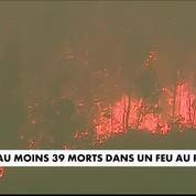 Portugal : un gigantesque incendie fait 43 victimes