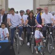 JO-2024 : un vélodrome éphémère sur la place de l'Etoile à Paris