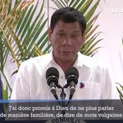 Rodrigo Duterte : 1 an d'exercice en 9 déclarations choc