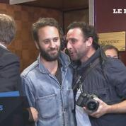 Le photojournaliste Mathias Depardon est arrivé en France