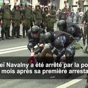 Une nouvelle manifestation anti-corruption secoue Moscou