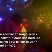 Le dancefloor du film culte Saturday Night Fever mis aux enchères