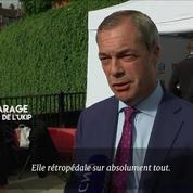Nigel Farage qualifie Theresa May d'«inutile»