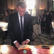 La vidéo des coulisses de la photo officielle d'Emmanuel Macron