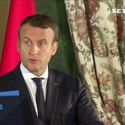 Au Maroc, Emmanuel Macron appelle les pays en crise dans le Golfe à l'apaisement