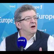 Jean-Luc Mélenchon: Emmanuel Macron