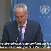 Retrait américain de l'accord de Paris : «une grande déception» pour l'ONU