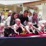 En Lituanie, on organise une course aux bébés