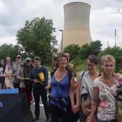 En Belgique, une chaine humaine géante contre le nucléaire
