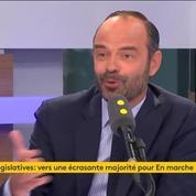 La démocratie française ne repose pas que sur la majorité parlementaire selon Edouard Philippe