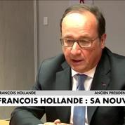 Après l'Elysée, quelle nouvelle vie pour François Hollande ?