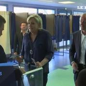 Législatives : Marine Le Pen a voté à Hénin-Beaumont