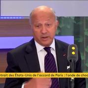 Laurent Fabius sur le retrait des Etats-Unis de l'accord de Paris : « Faute historique majeure »